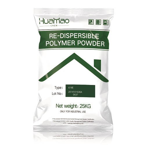 619E - Redispersible polymer powder for putty