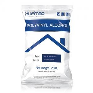 088-50 polyvinyl alcohol partially hydrolyzed used for construction adhesive